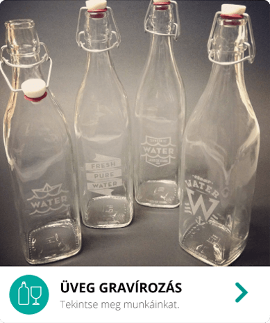 Üveg gravírozás